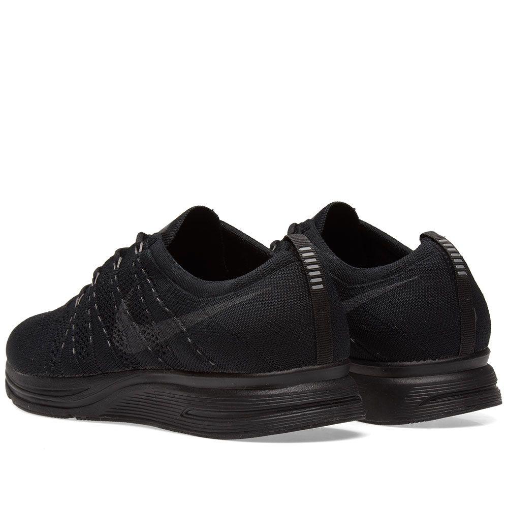6ac26e0d0eaf Nike Flyknit Trainer Black   Anthracite