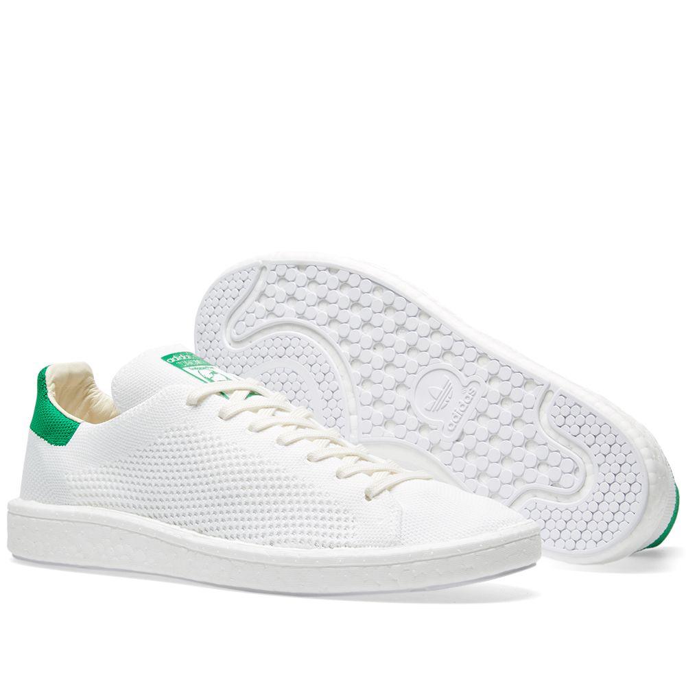 686a0b64202 Adidas Stan Smith Boost PK White   Green