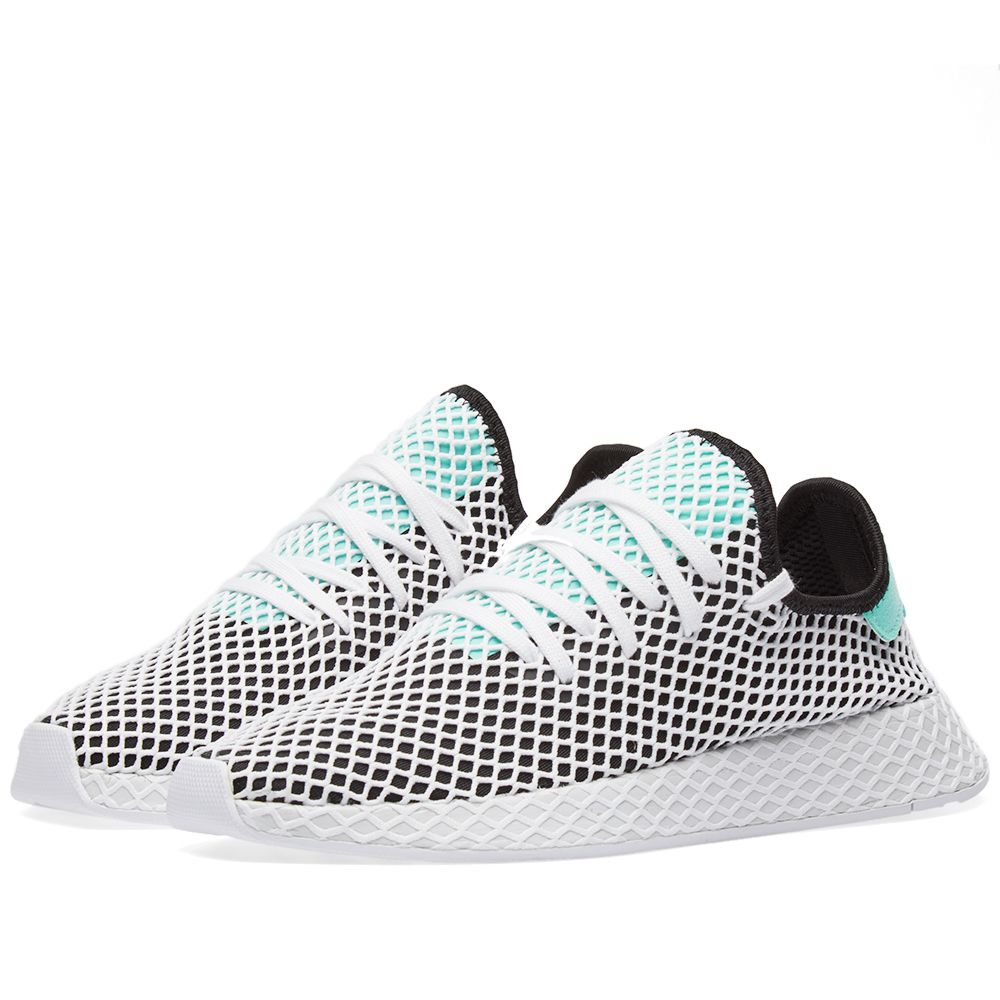 the best attitude 4c55c 67c2f Adidas Deerupt Runner Black  White  END.