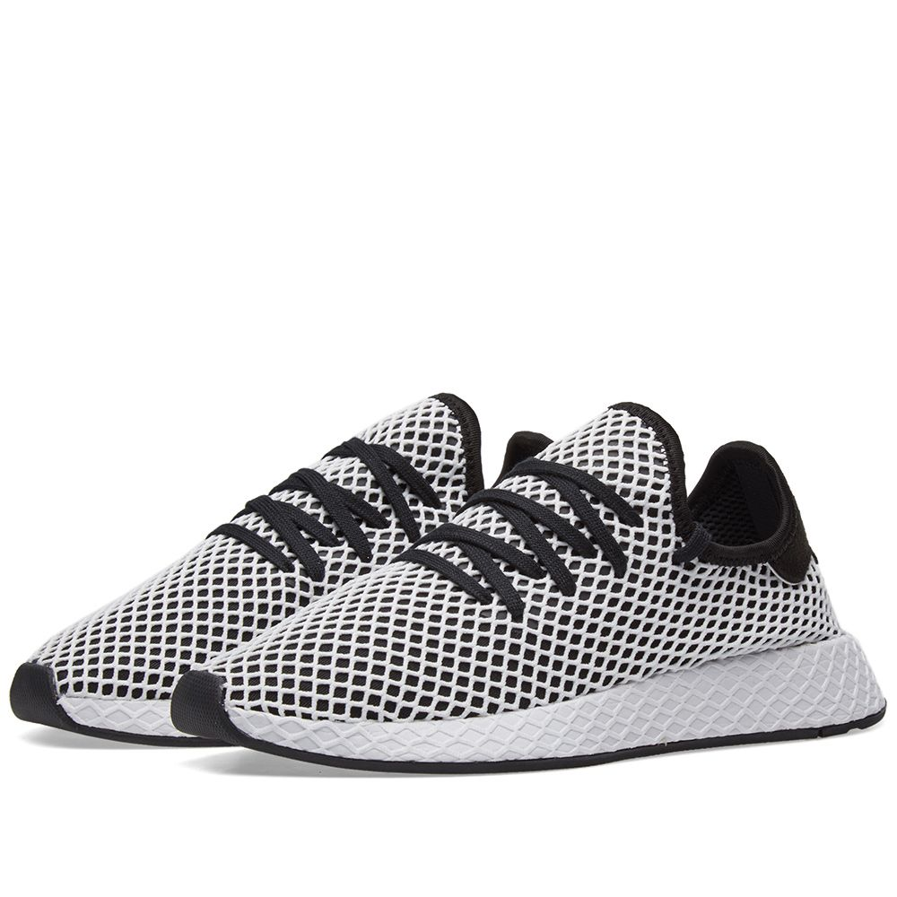 the best attitude 00ce3 e6f19 Adidas Deerupt Runner Black  White  END.