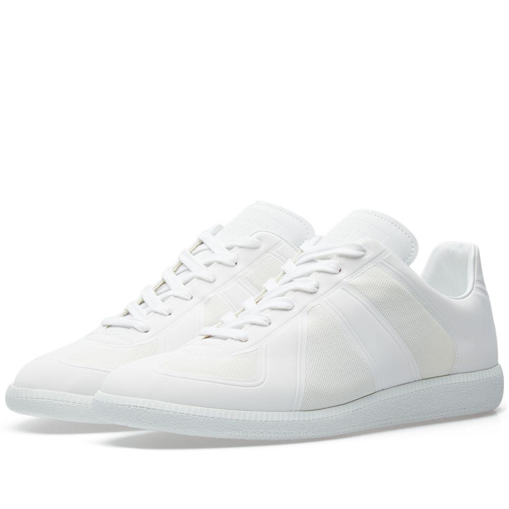 1ffc67bd1fb5 Maison Margiela 22 Tech Replica Sneaker White