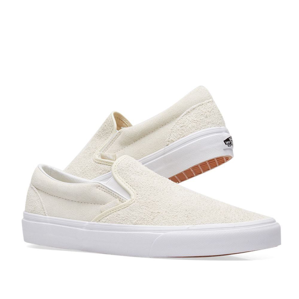 45a9fd81035631 Vans Classic Slip On Hairy Suede Turtledove