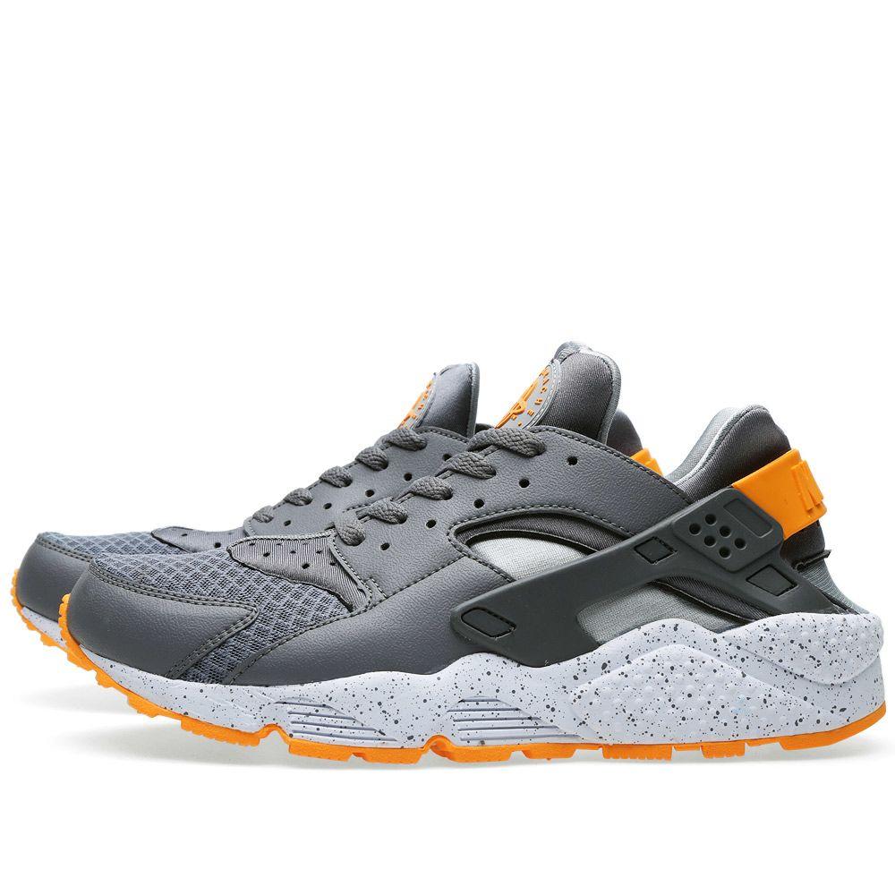 e13b659df9fb Nike Air Huarache Cool Grey   Atomic Mango