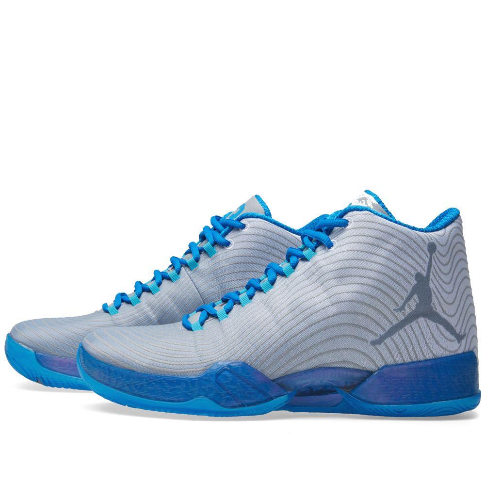 super popular a0ca7 8231a Nike Air Jordan XX9  Playoff  White   Cool Blue   END.