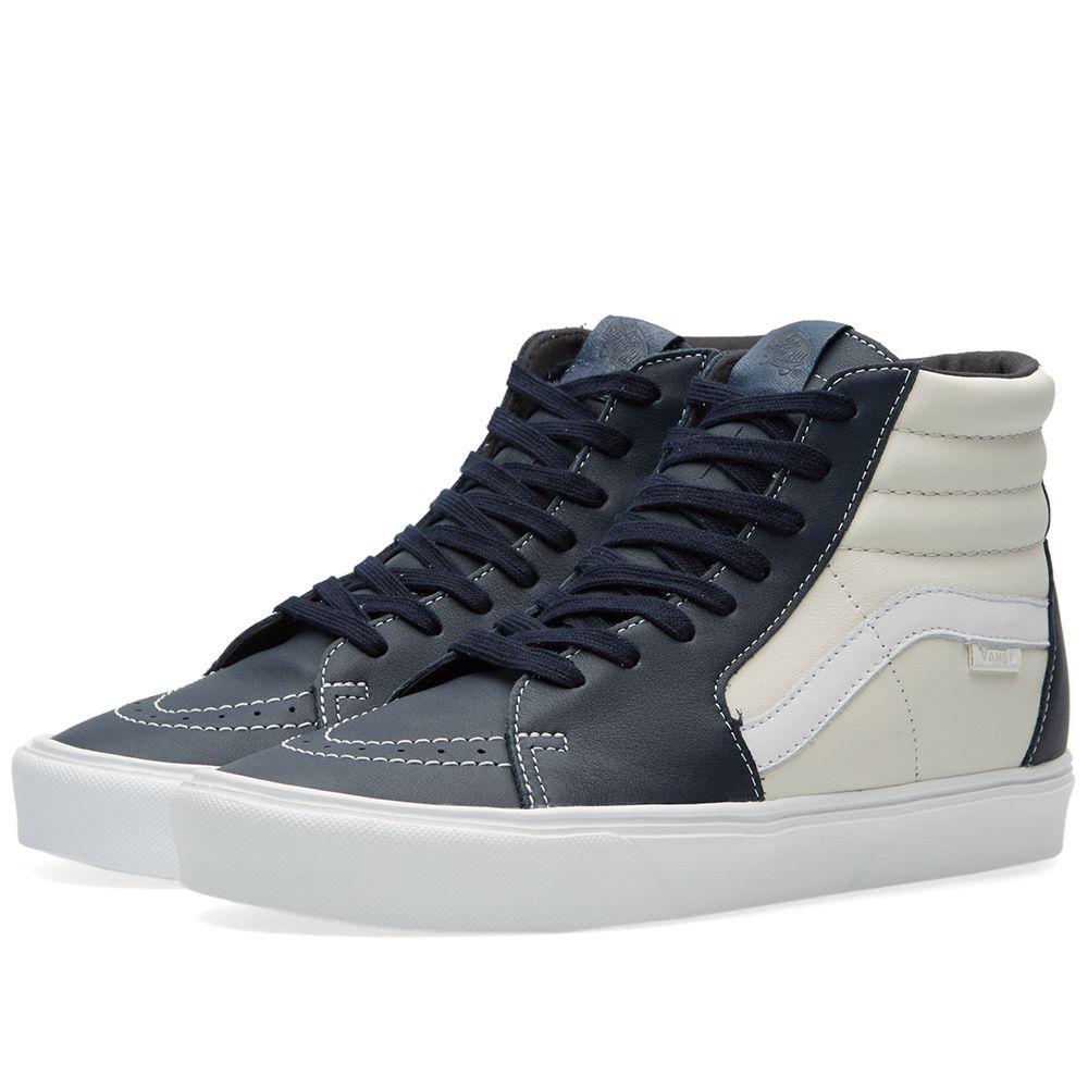 37be4ad88a Vans Vault Sk8-Hi Lite LX Marshmallow   Blue Nights