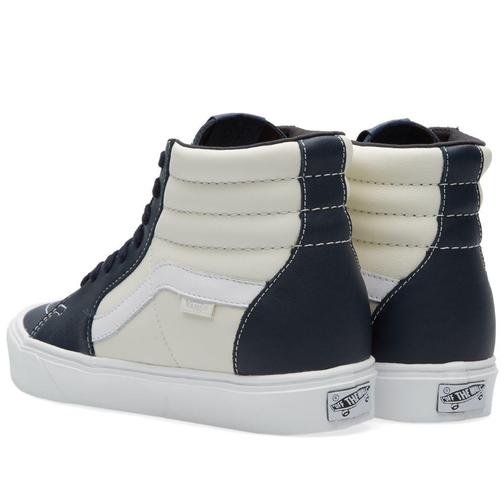 d3c998cfd1dd Vans Vault Sk8-Hi Lite LX Marshmallow   Blue Nights