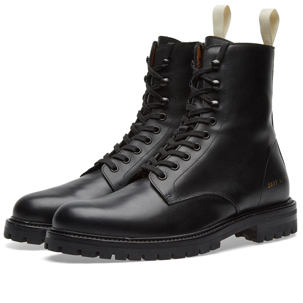 f6b268d61fd41 Common Projects Winter Combat Boot Black