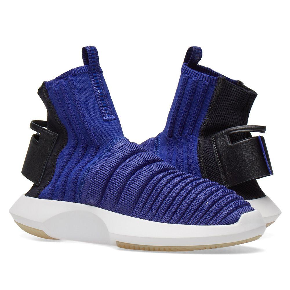 Adidas Crazy 1 ADV Sock PK Purple   Black  54e53d7103b6