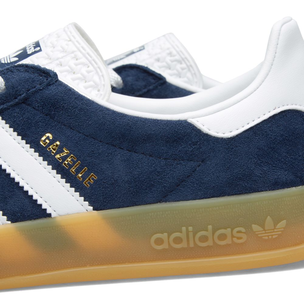 low priced bf995 64bba Adidas Gazelle Indoor. Collegiate Navy  White