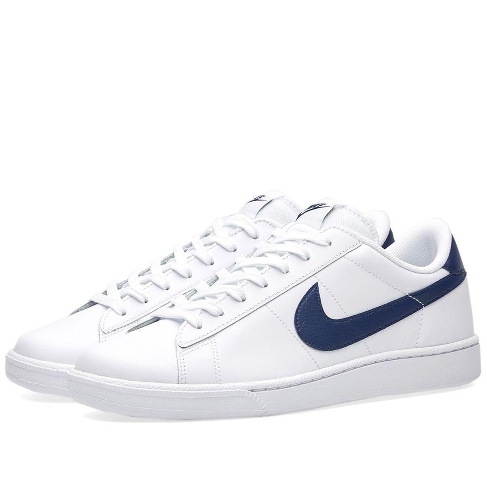 ce432627efdc Nike Tennis Classic CS White   Midnight Navy