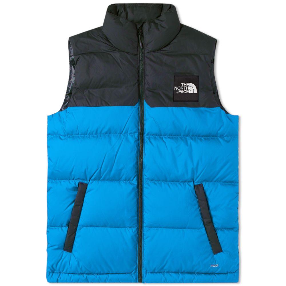 The North Face 1992 Nuptse Vest. Bomber Blue   Asphalt Grey. ₩278 028f87412