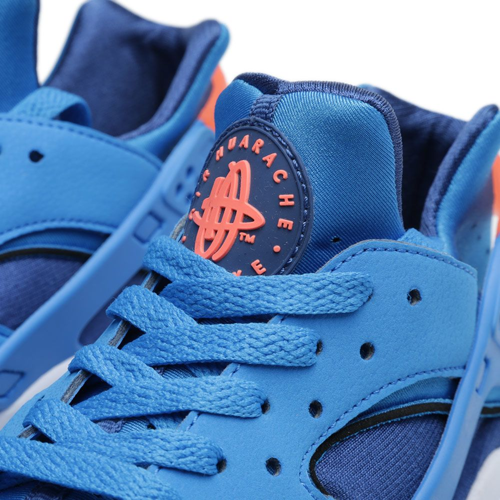 save off 0d7de 54bad Nike Air Huarache. Gym Blue   Bright Mango.  109. image