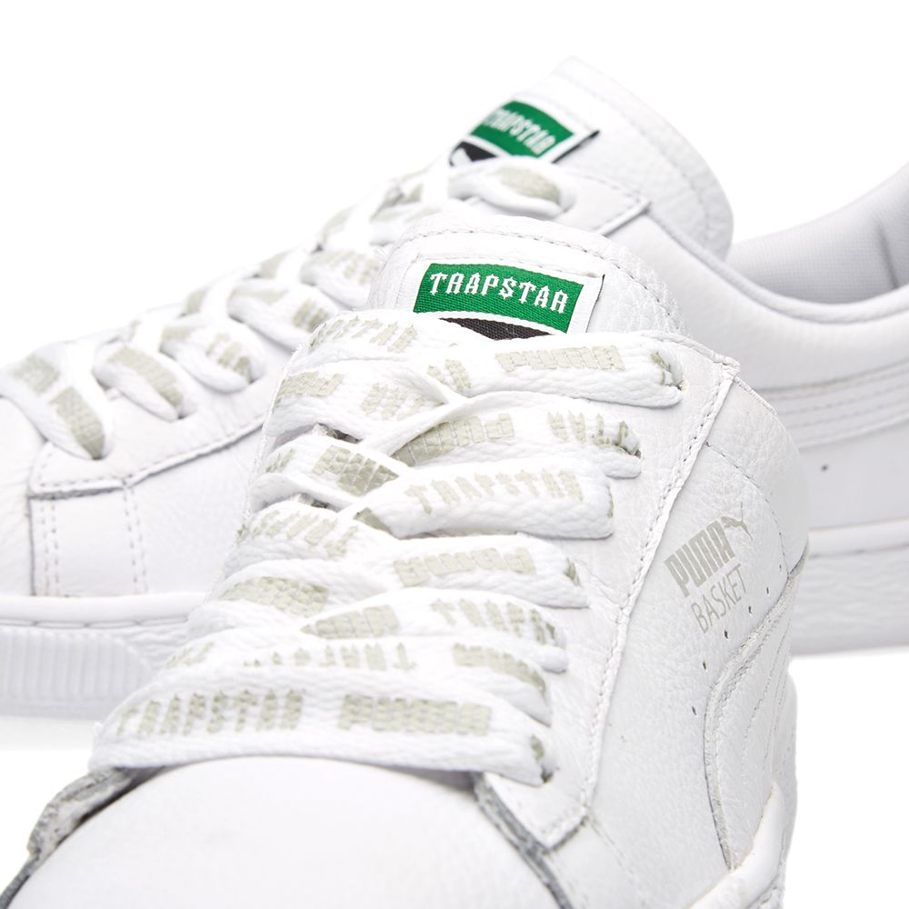 Puma x Trapstar Basket White  523cca733