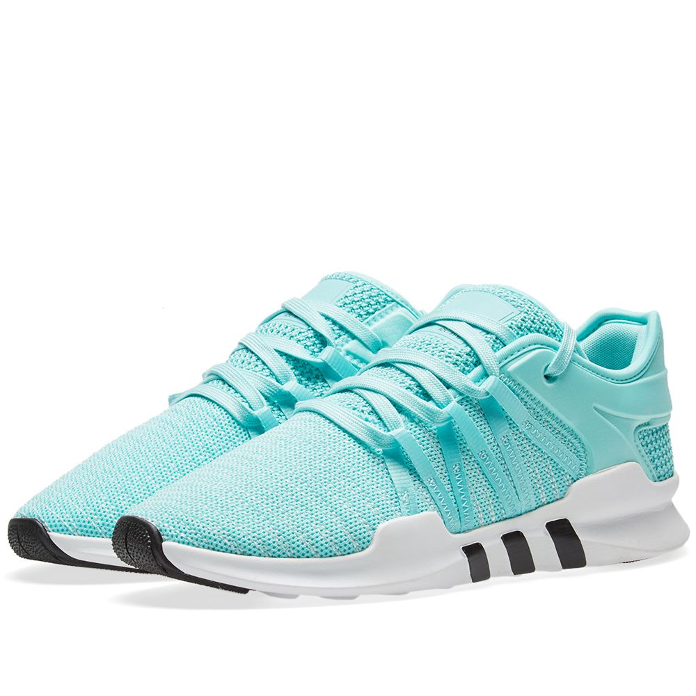 cheaper 07609 1217b Adidas EQT Racing ADV W Energy Aqua  White  END.