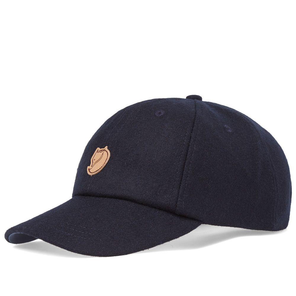 ab4efb6eba9b1 Fjällräven Övik Wool Cap Dark Navy   Uncle Blue
