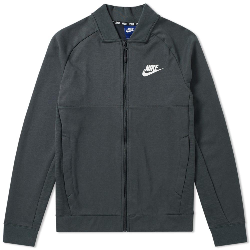 394c0edba278 Nike AV15 Fleece Jacket Outdoor Green