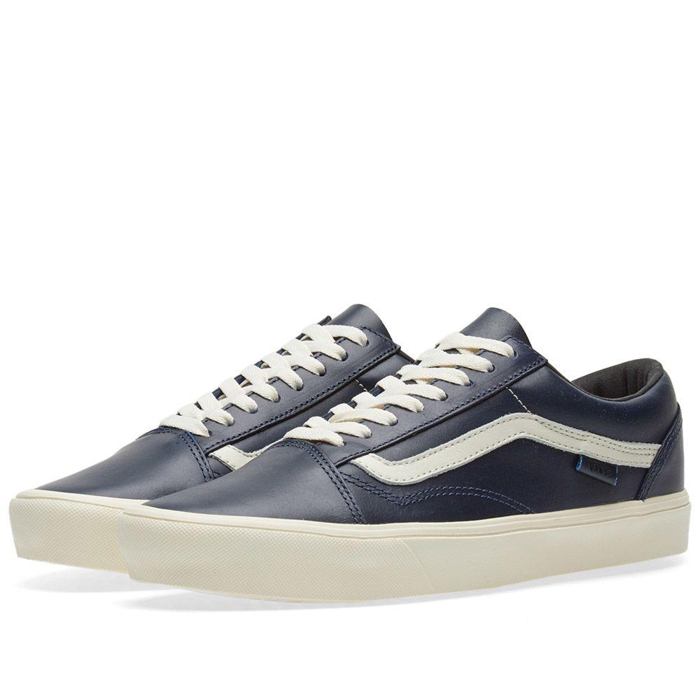 8a5e91ffd7bb91 Vans Vault x Horween Old Skool Lite LX Lapis Blue