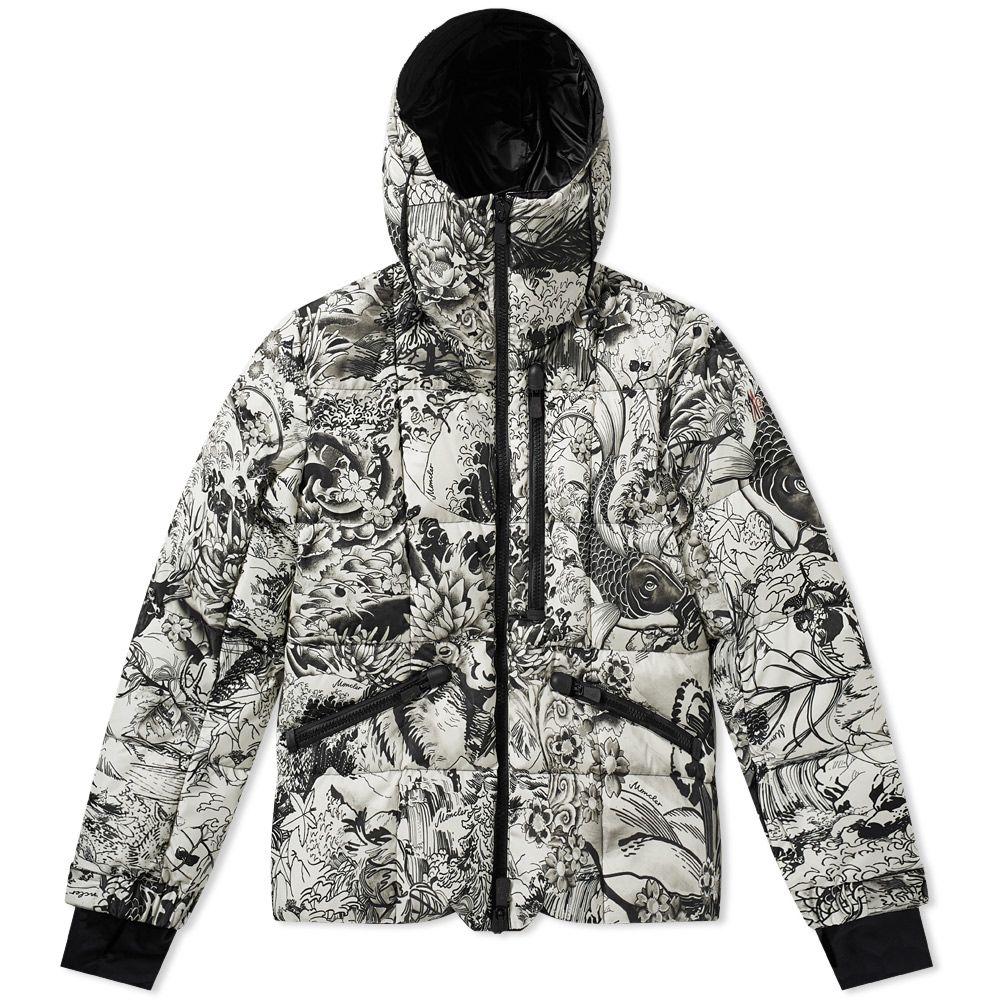 4a8ad0e2f05 Moncler Grenoble Coulmes Print Jacket Black