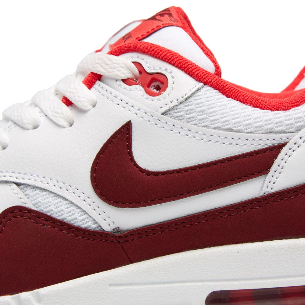 separation shoes 2b1ab 966e5 Nike Air Max 1 Essential. White, Team Red  Action Red. £95 £59. image.  image. image