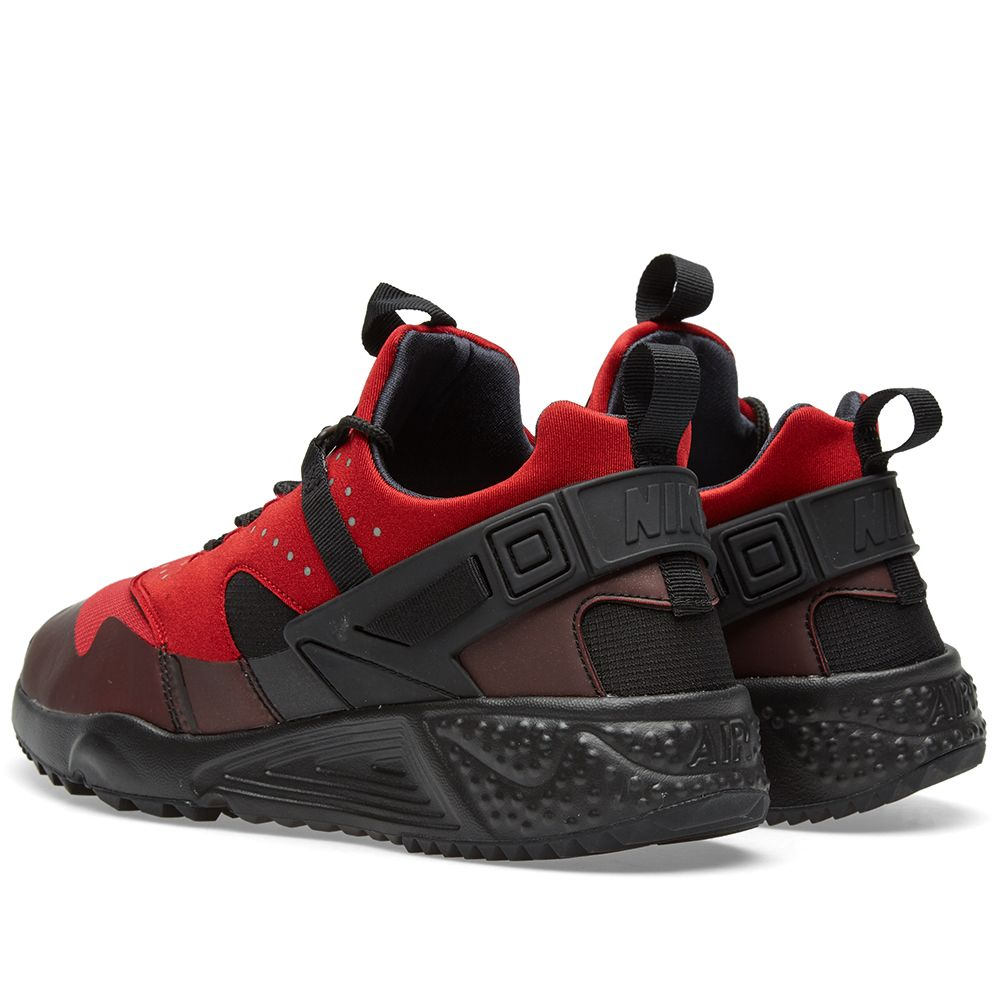 0382b501fecab1 Nike Air Huarache Utility Gym Red   Black