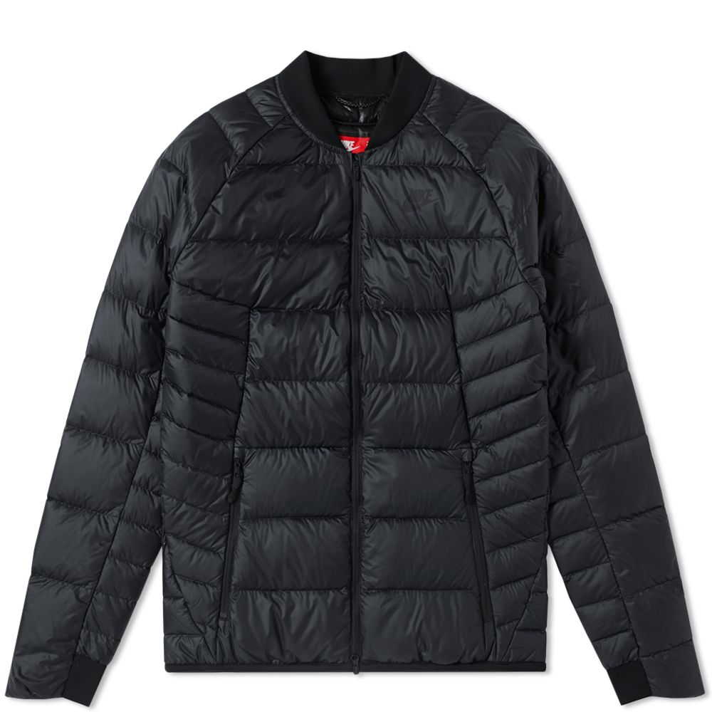 552608933383 Nike Guild Down Bomber Black   Anthracite