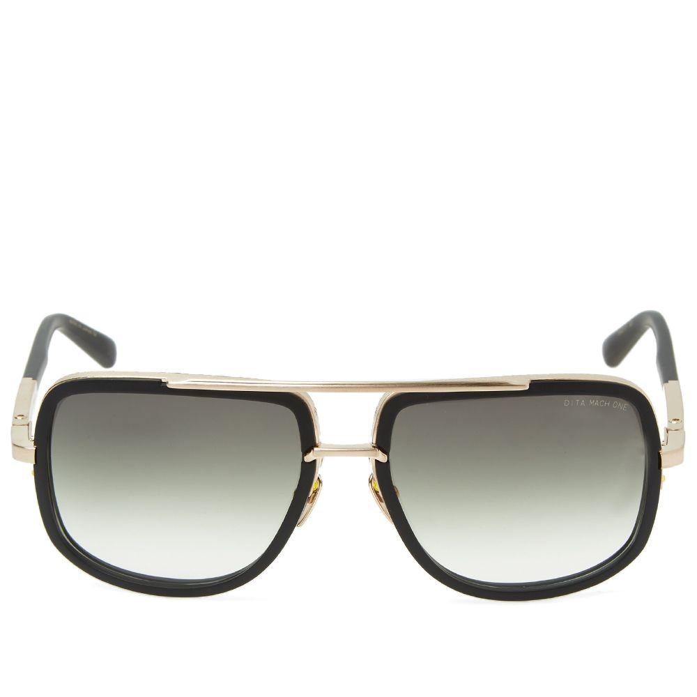 802a58b639 Dita Mach-One Sunglasses Matte Black   G-15