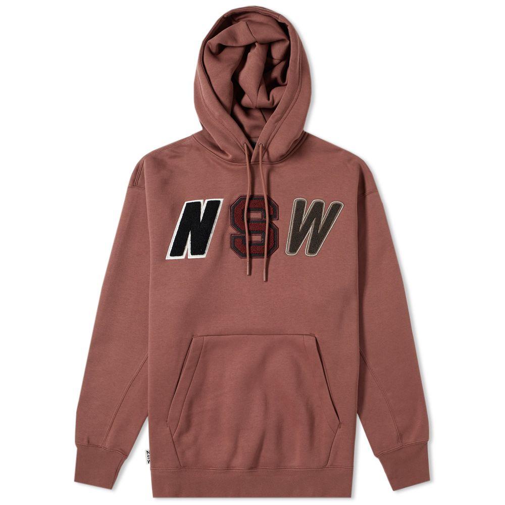 6a53abf97ea1ad Nike Pullover Fleece Hoody Red Sepia