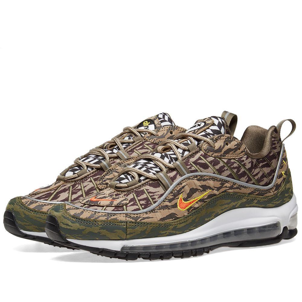 45fddbe5d542f8 Nike Air Max 98  Camo  Khaki