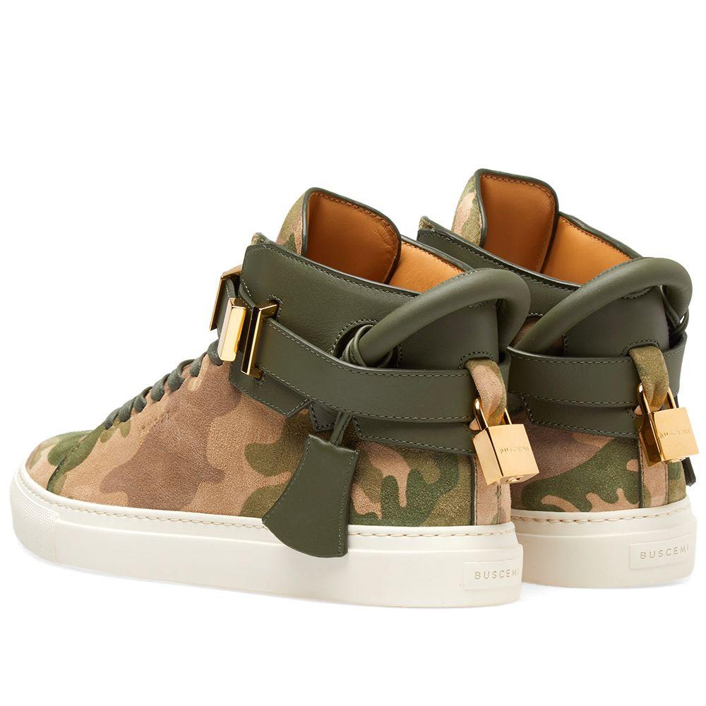 a58d33bb694b Buscemi 100MM Clip Sneaker Camouflage
