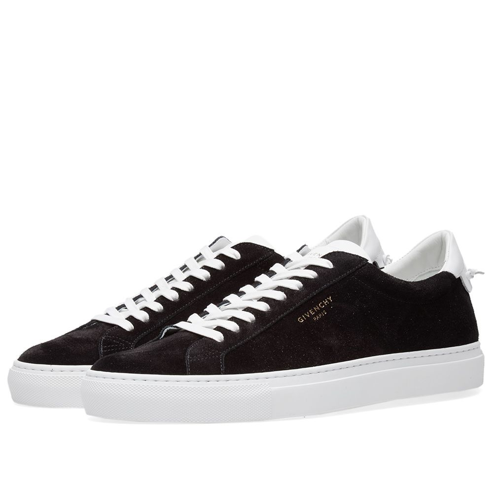 84cd2e7fa6bb Givenchy Street Low Suede Sneaker Black   White