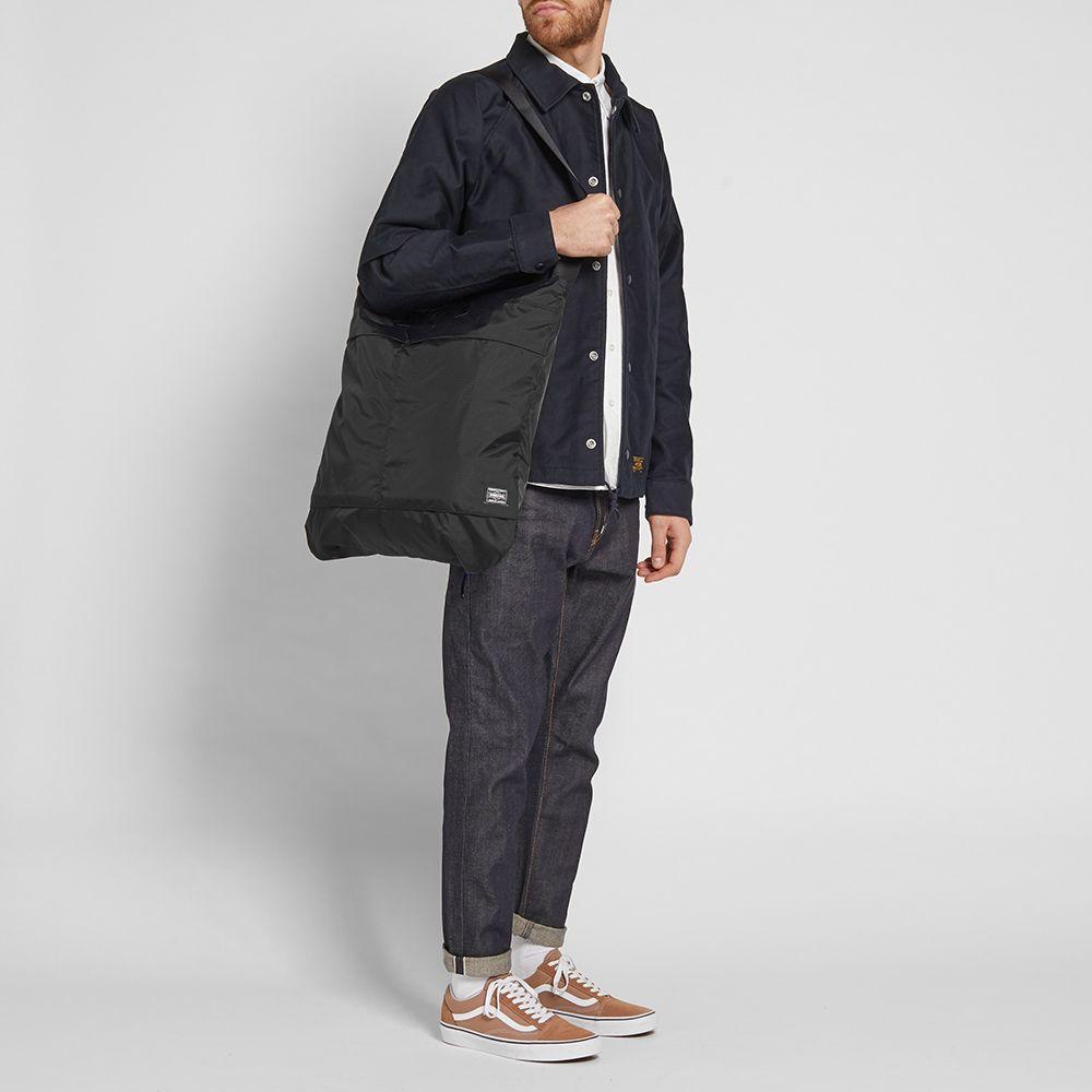 cf3e0157d6 Porter-Yoshida   Co. Flex 2Way Duffle Bag Black