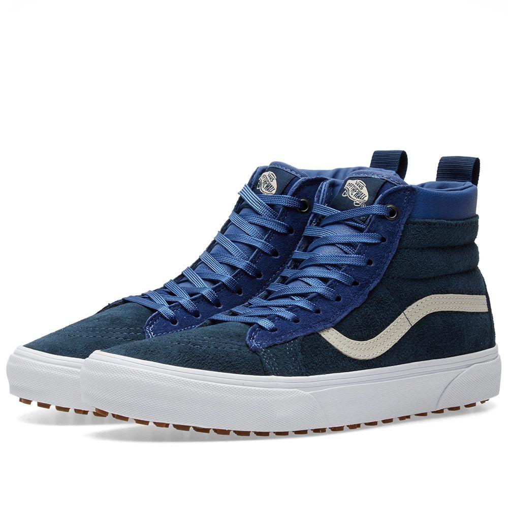 529184070e Vans Sk8-Hi MTE True Navy   Dress Blue
