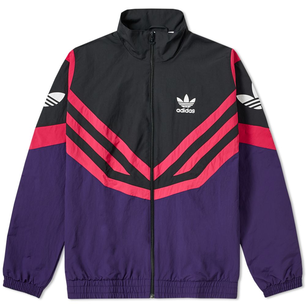 c8ce2fb63c9d Adidas Sportive Track Jacket Dark Purple