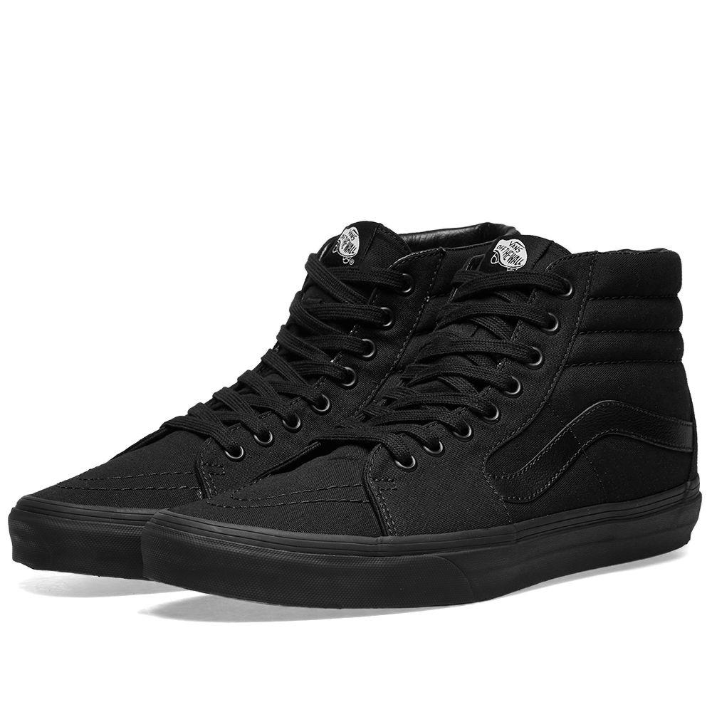 Vans Sk8-Hi. Black. HK 575. image f3e45256c