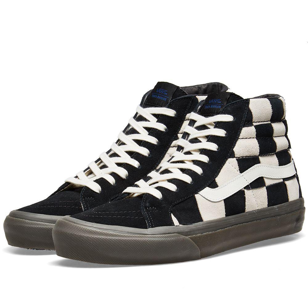 ef582561d0c1ae Vans Vault x Taka Hayashi Sk8-Hi LX Checkerboard   Black