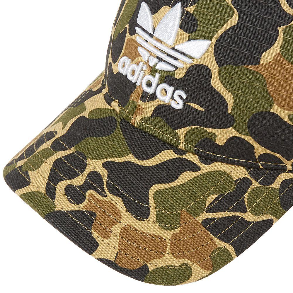 71882bc4357 Adidas Camo Baseball Cap Dark Sahara