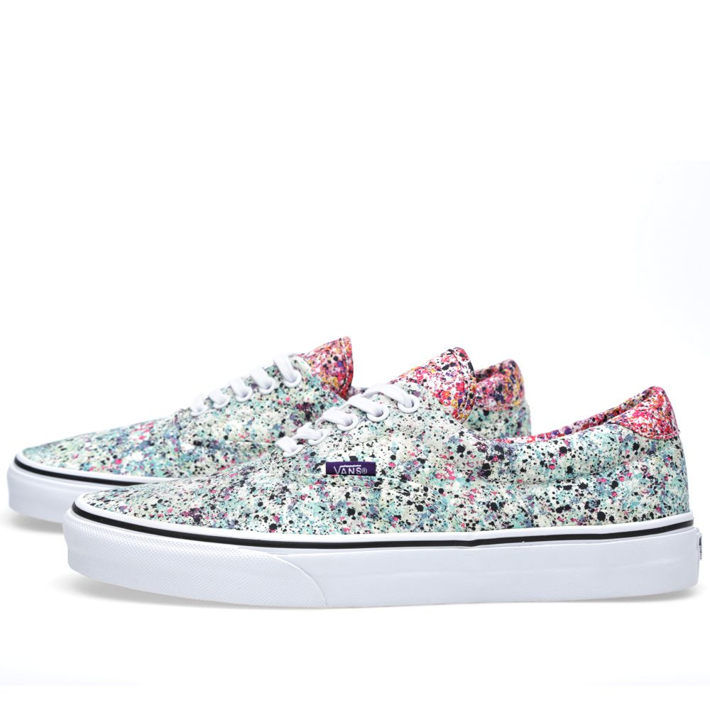 9bd545f1d9 Vans x Liberty Era 59. Speckle   True White. HK 575 HK 279. image