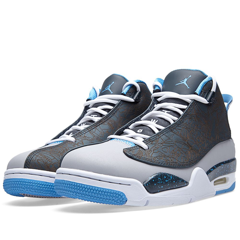 2506c3fb230 Nike Air Jordan Dub Zero  Wolf Grey  Wolf Grey   University Blue