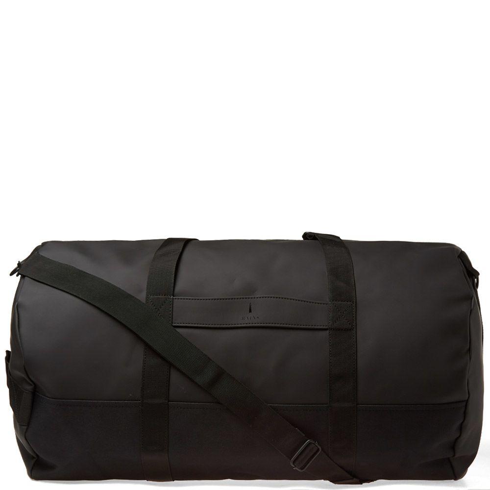 1da66375aeb Rains Travel Duffel Bag Black | END.
