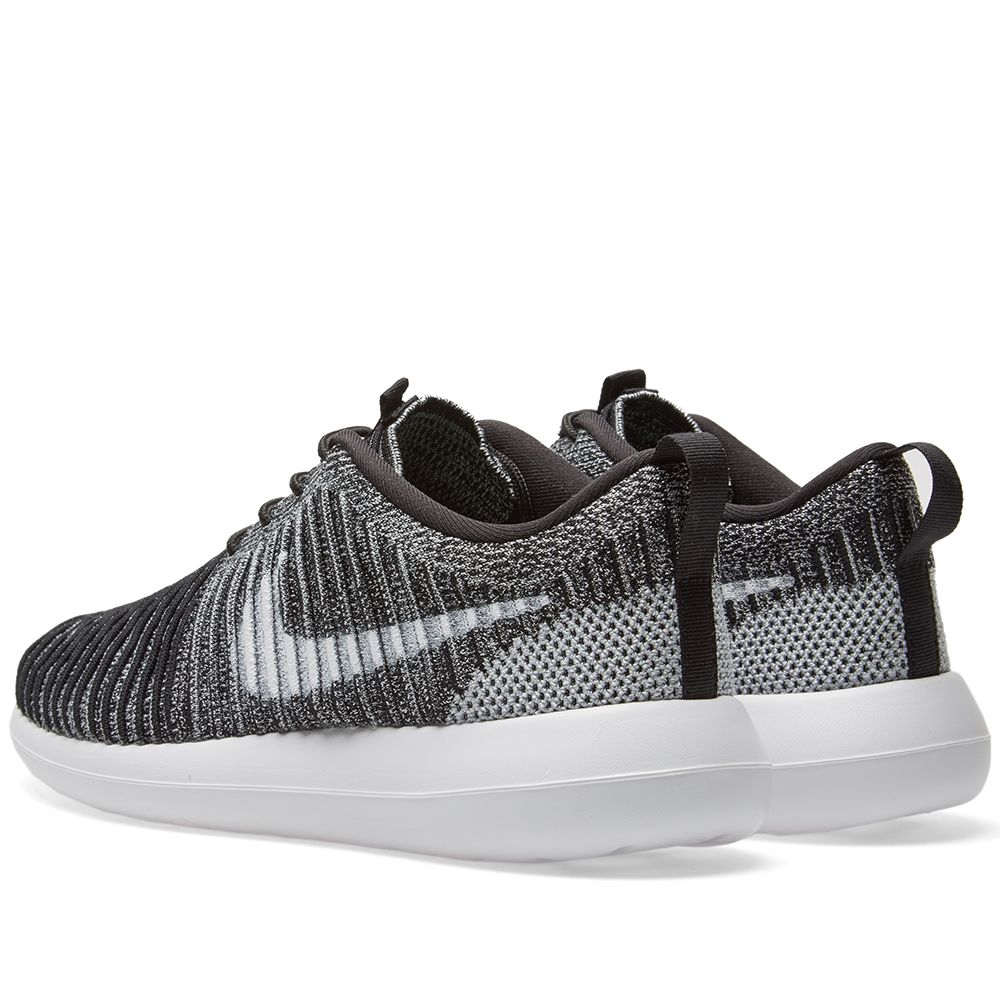hot sale online 261a8 dbac4 Nike Roshe Two Flyknit. Black, White  Stadium Green. AU165 AU69. image