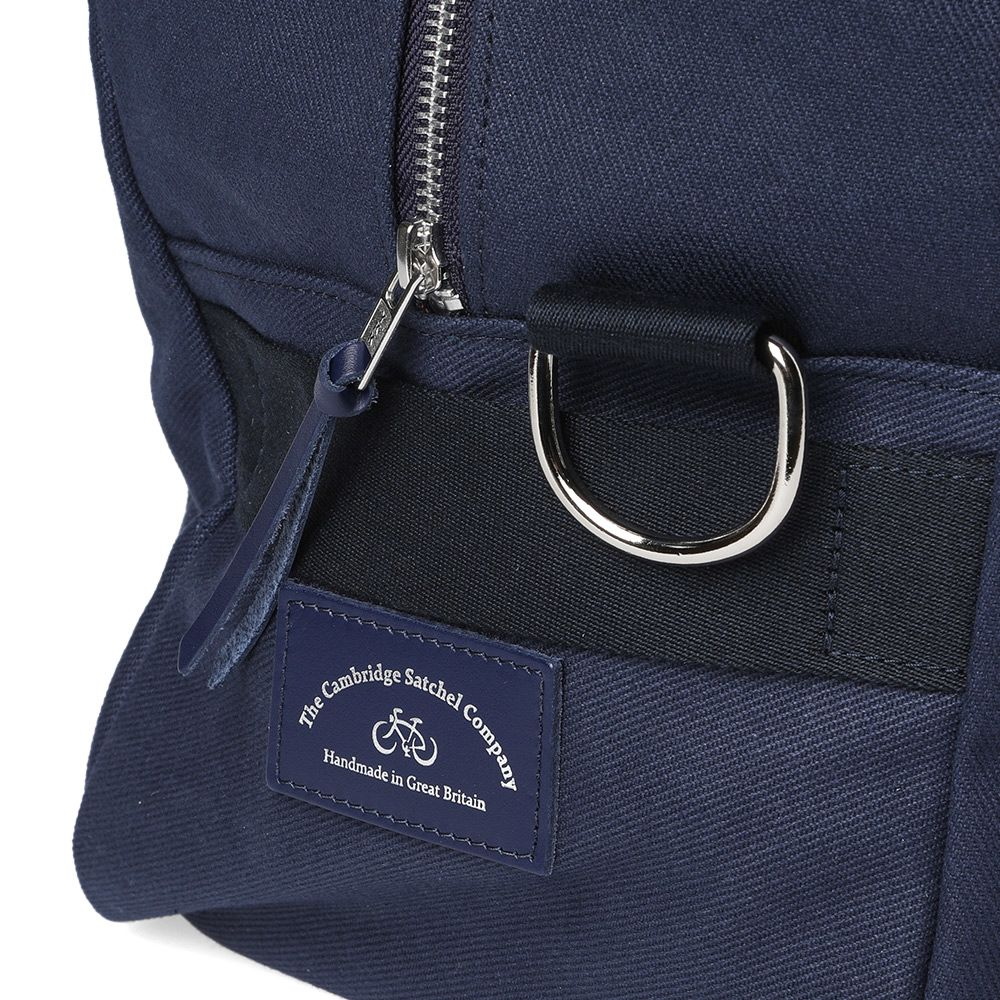 83c1875da250 The Cambridge Satchel Company Canvas Sports Bag Navy
