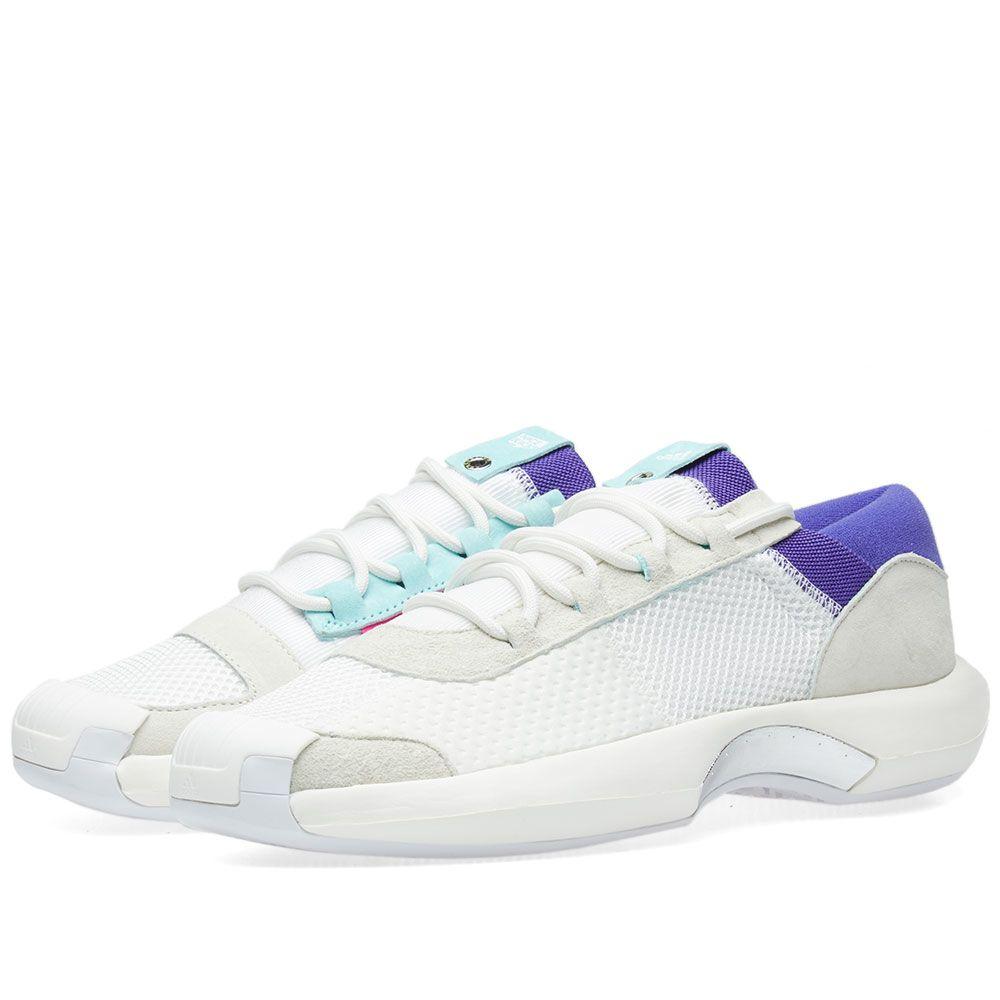 6f78a076eb9b Adidas Consortium x Nice Kicks Crazy 1 A D White   Energy Aqua