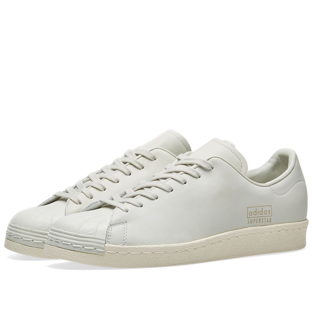 huge selection of bf38d 25979 Adidas Superstar 80s Clean Crystal White   END.