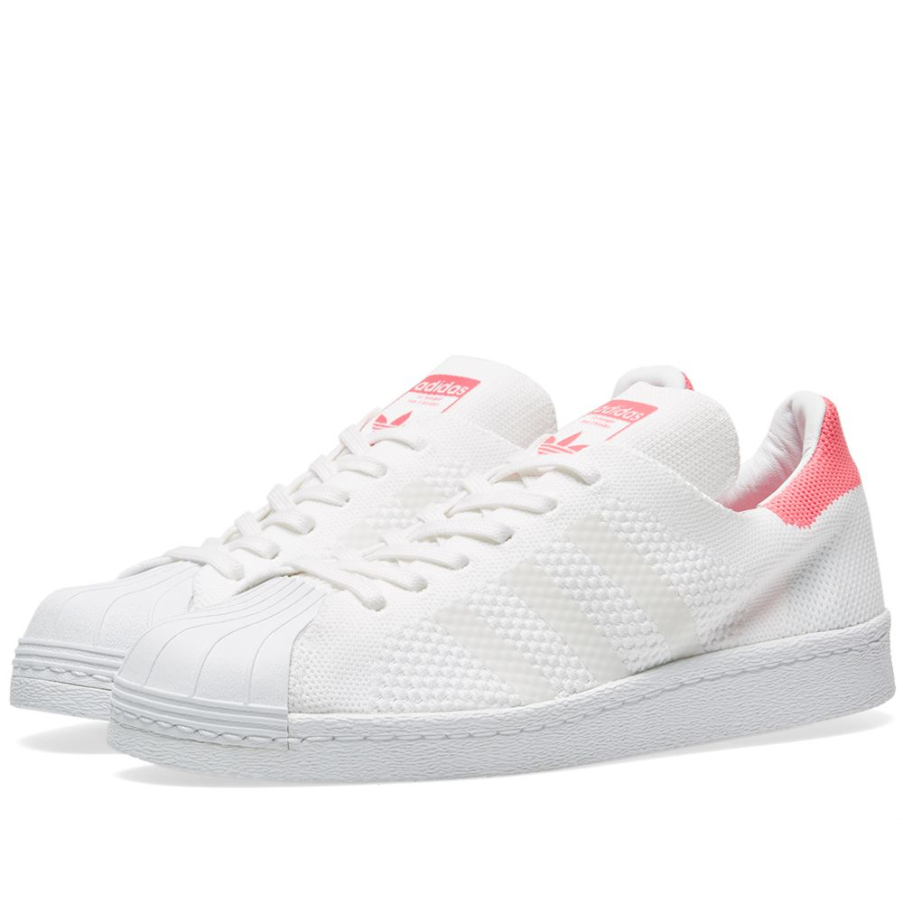 Adidas Women s Superstar 80s PK W. White   Solar Pink. £99 £35. image 09f9613ec205