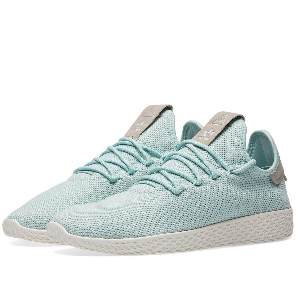59362aa73 Adidas x Pharrell Williams Tennis HU W Ash Green   Ash Grey