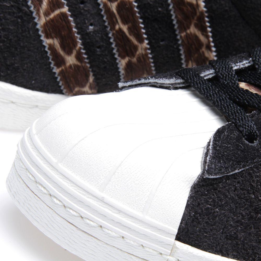 bd4c2af7038b Adidas x X-Large Superstar 80s GRF Wheat   Black