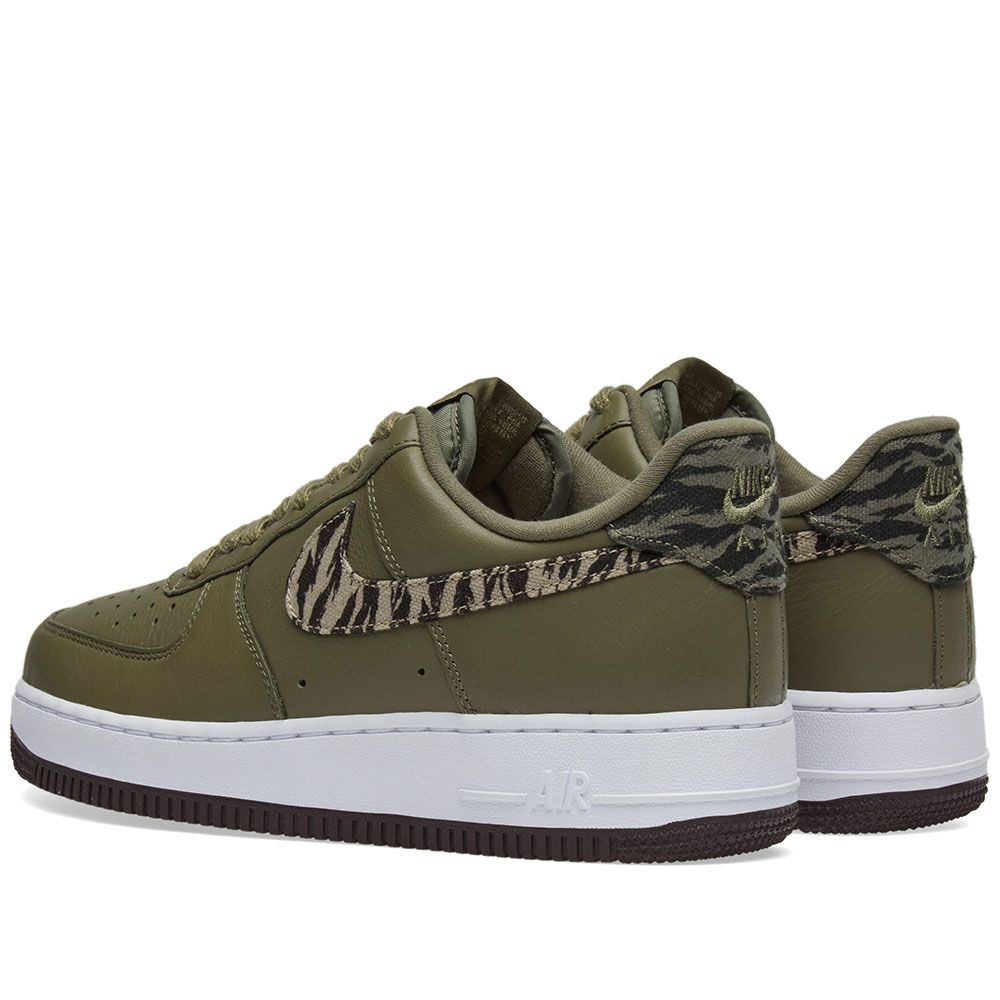 low priced 5a15f 6b226 Nike Air Force 1 Premium Tiger Camo Olive Camo  END.