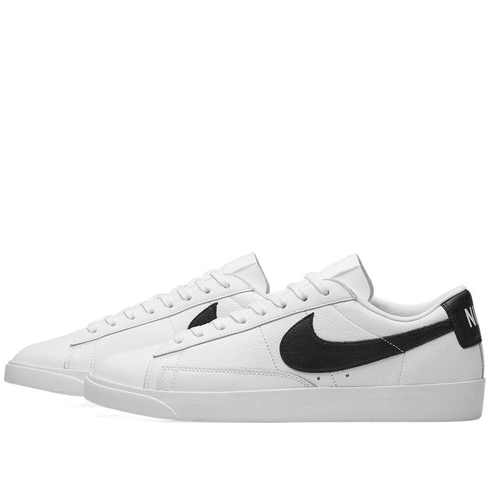 81df6d3470f0 Nike Blazer Low LE Basketball W White   Black