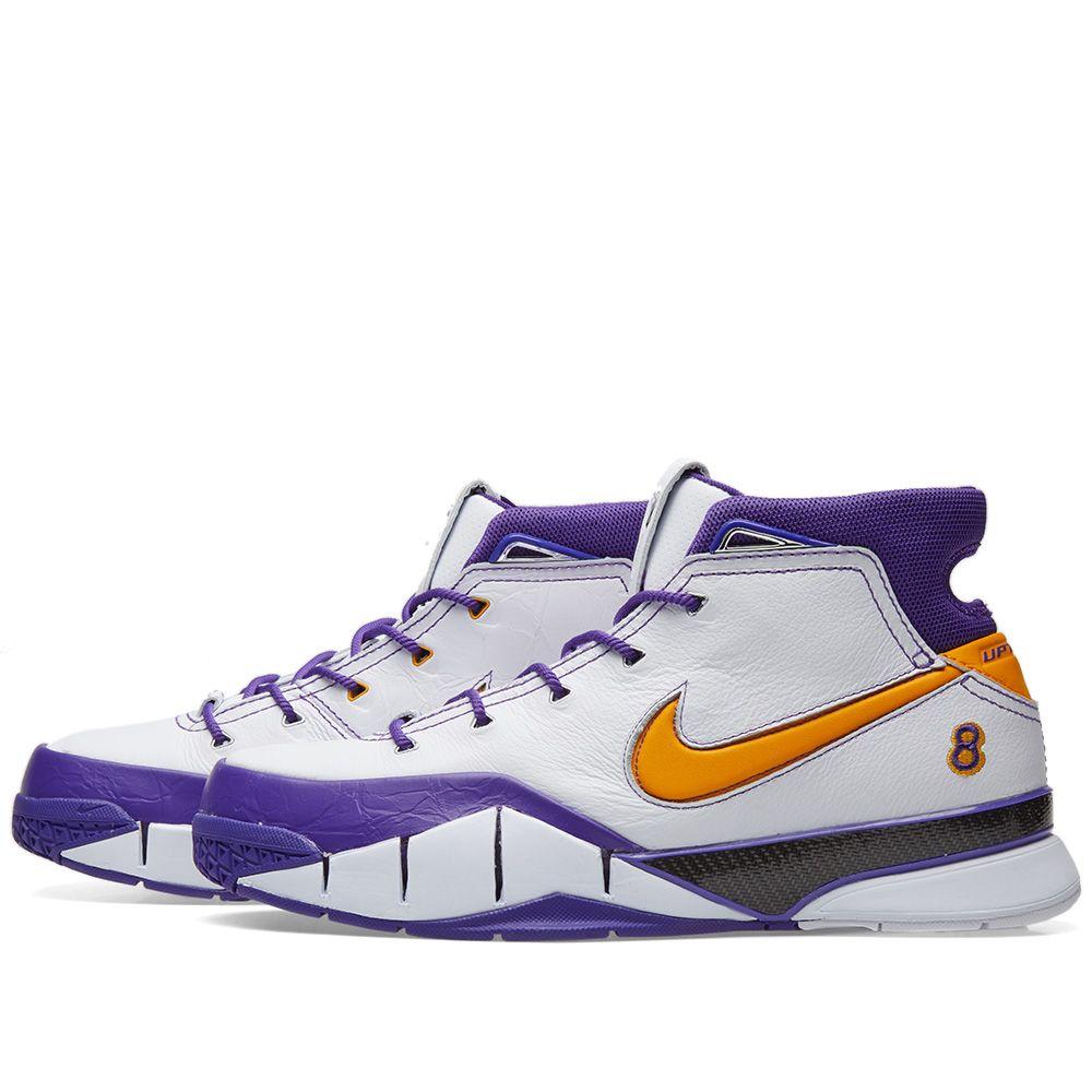 c85ea5129557 Nike Kobe 1 Protro White