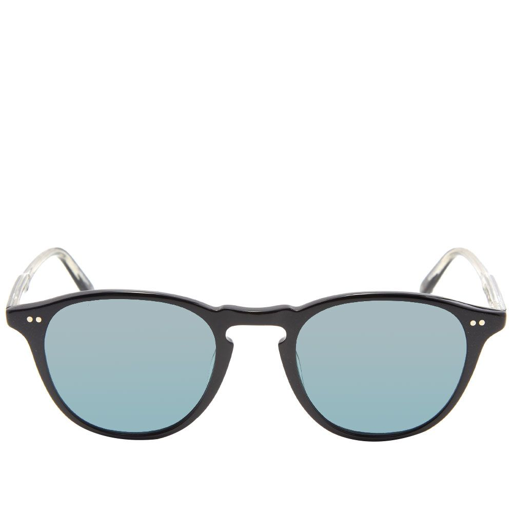 d323152fa60ef Garrett Leight Hampton Sunglasses Black   Blue Smoke Polarized